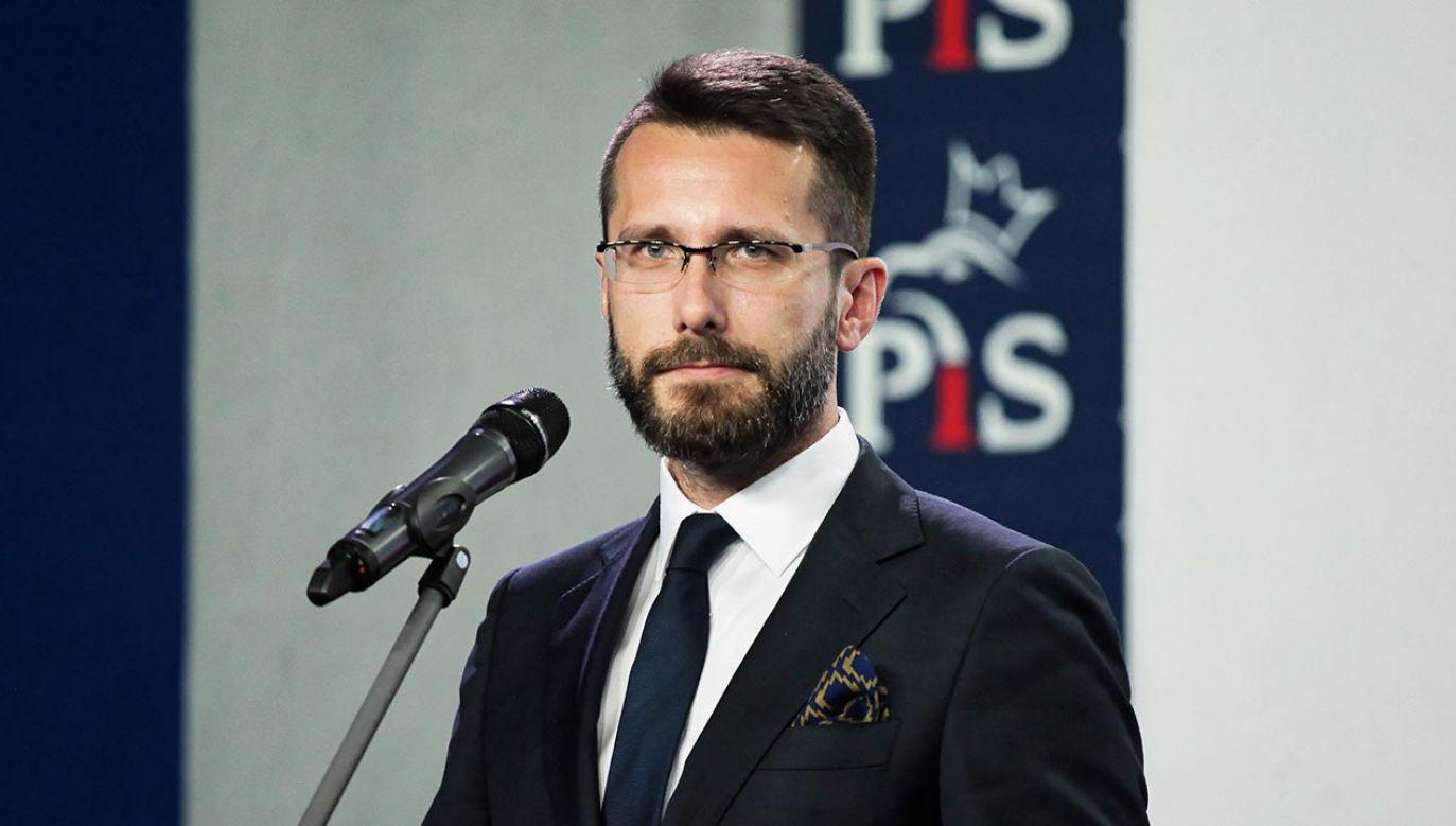 Radosław Fogiel (fot.  PAP/Mateusz Marek)