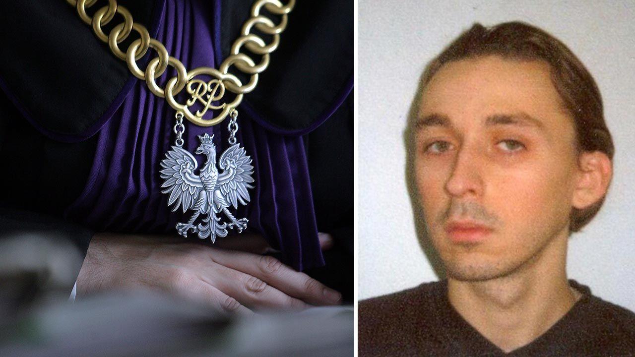 Kim naprawdę jest Dawid Manzheley? (fot. PAP/Paweł Kul; Policja)