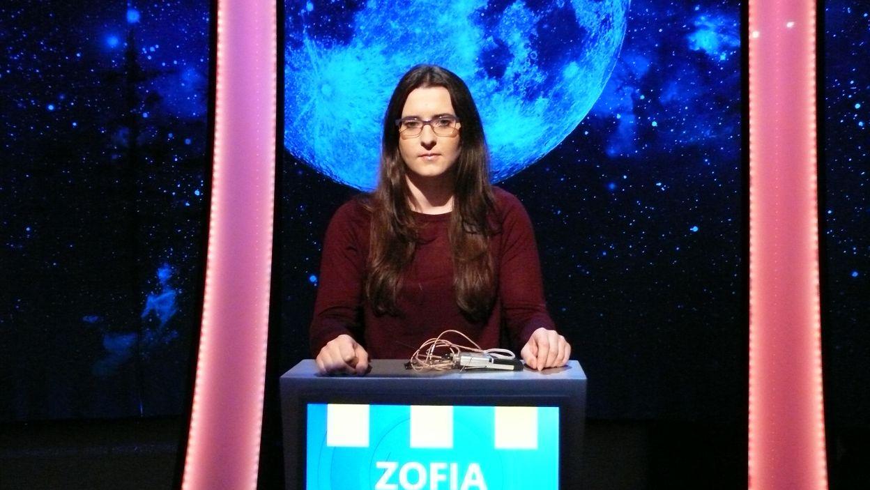 Pani Zofia w napięciu oczekuje rozgrywki 7 odcinka 110 edycji