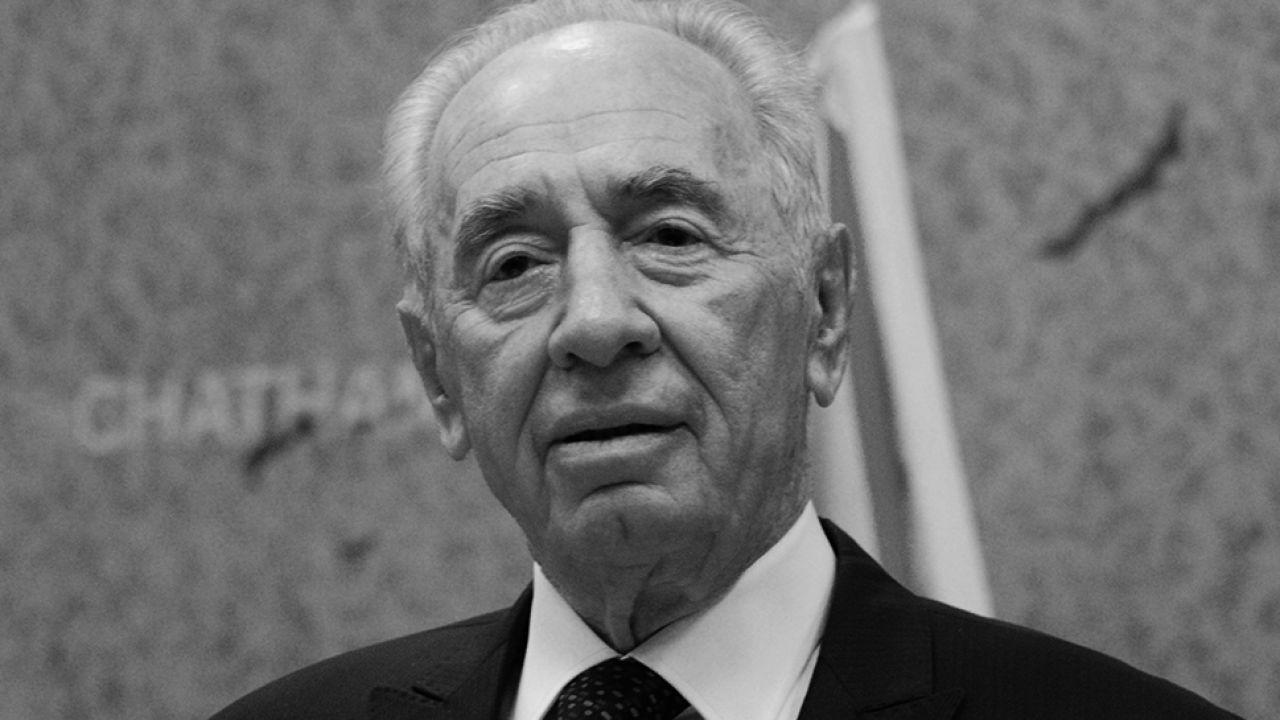 Szimon Peres miał 93 lata (fot. wikipedia.org)