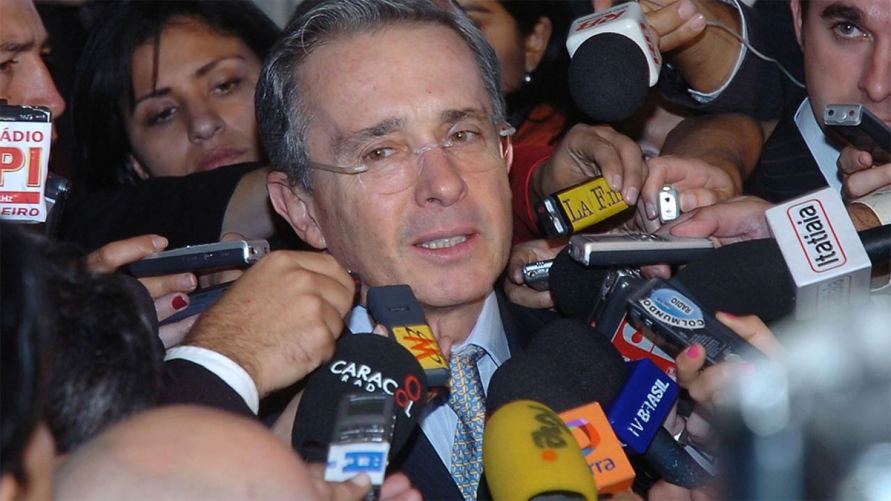 Alvaro Uribe nie ma sobie nic do zarzucenia (fot. Wiki 3.0/José Cruz/ABr)