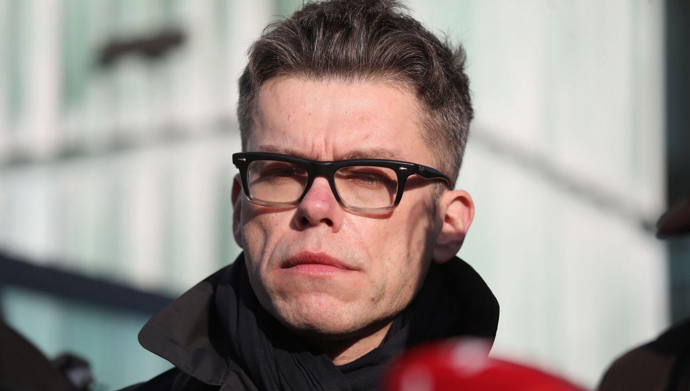 Sędzia Igor Tuleya (fot. arch. PAP/Tomasz Gzell )