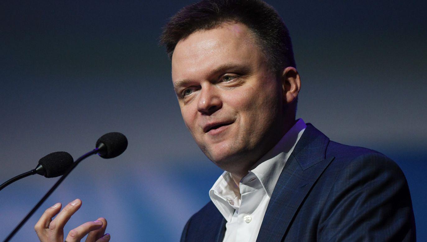 Po stronie opozycji najwięcej ma do powiedzenia Szymon Hołownia (fot. Artur Widak/NurPhoto via Getty Images)
