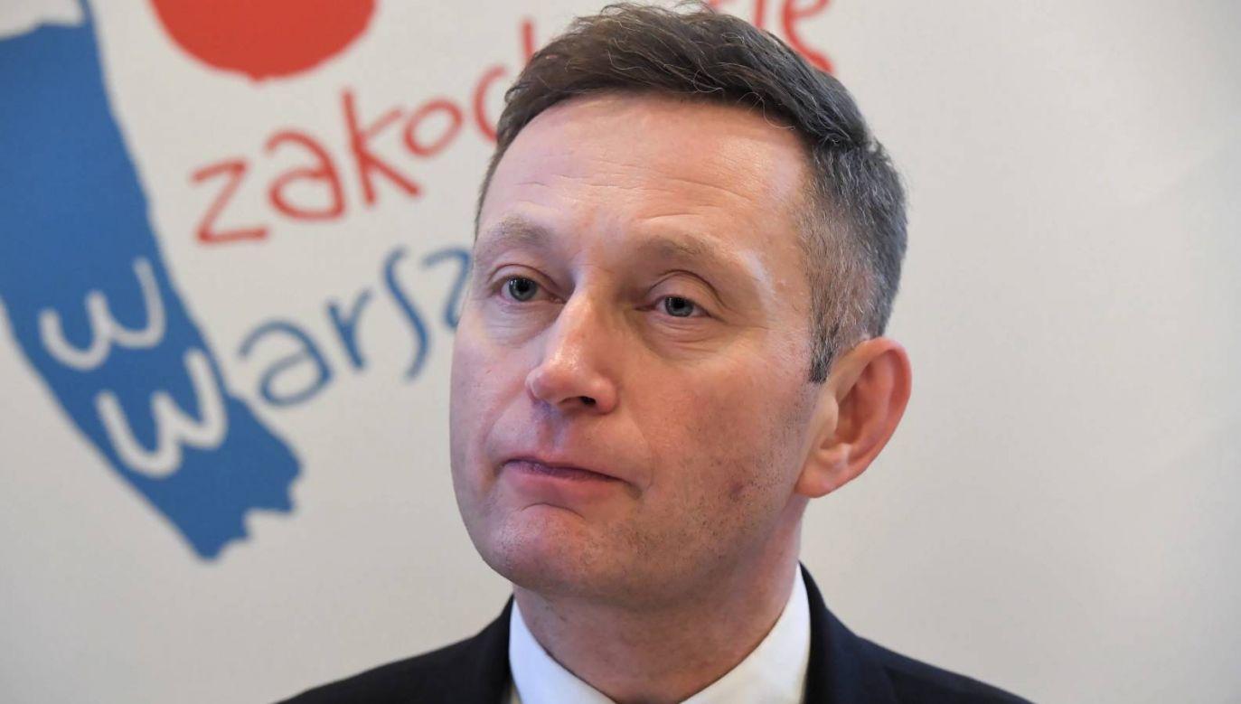 Urlop Pawła Rabieja w czasie pandemii kosztował stanowisko wiceprezydenta Warszawy (fot. arch. PAP/Andrzej Lange)