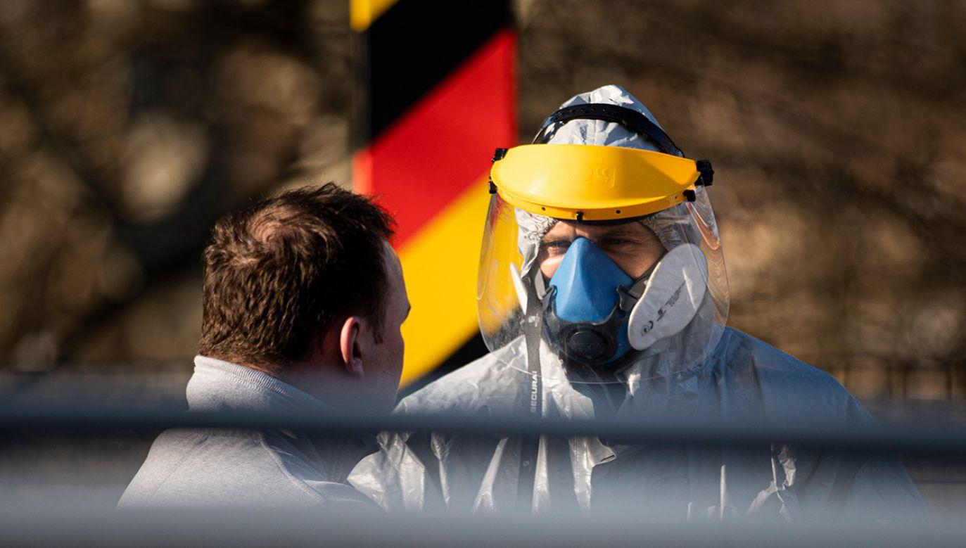 """""""Zwłaszcza teraz musimy trzymać się razem i proponować dobre rozwiązania"""" (fot. Florian Gaertner/Photothek via Getty Images)"""