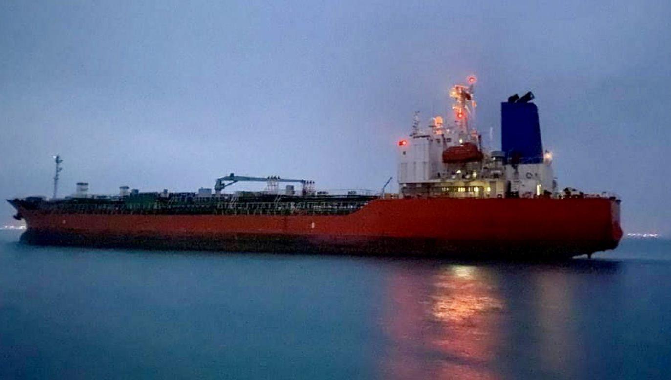 Statek kierował się do portu Fudżajra w Zjednoczonych Emiratach Arabskich (fot. PAP/EPA, zdjęcie ilustracyjne)