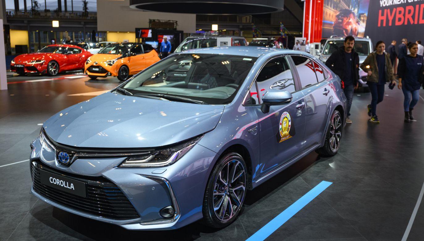 Toyota Corolla z roczników 2011-2019 jest jednym z czterech modeli, które zostaną objęte akcją serwisową (fot. Sjoerd van der Wal/Getty Images)