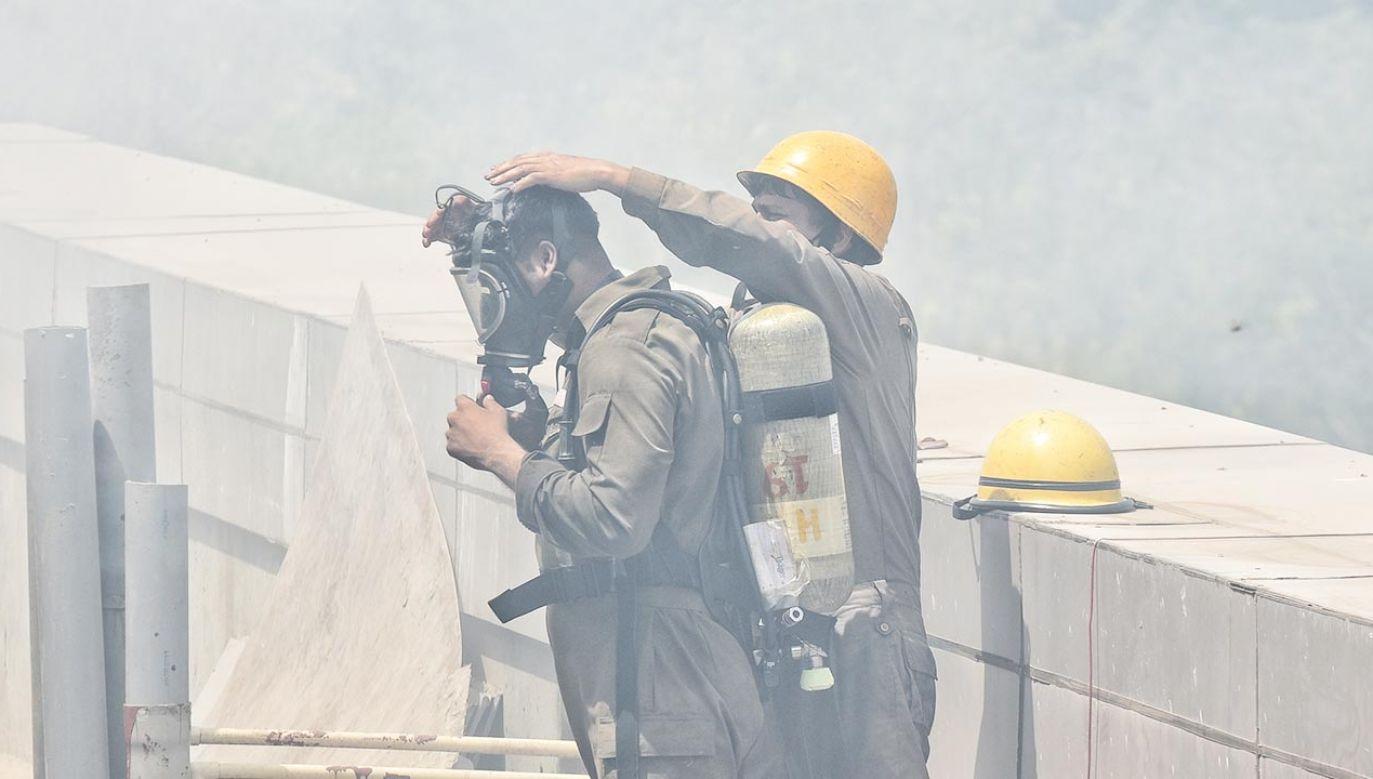 Do pożaru doszło w miejscowości Virar w stanie Maharasztra (fot. Sanchit Khanna/Hindustan Times via Getty Images, zdjęcie ilustracyjne)