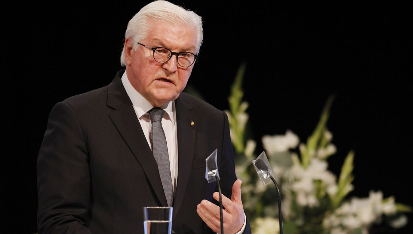 Frank-Walter Steinmeier (fot. Ronald Wittek Pool/Getty Images)