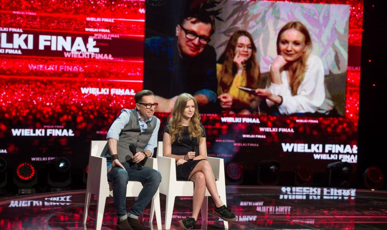 W finale zmierzyli się z Olgą Borys, Wojciechem Majchrzakiem i ich córką Mirą (fot. Jan Bogacz/TVP)