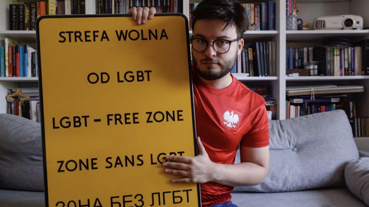 Dla CNN wypowiedział się także Bart Staszewski, aktywista LGBT (fot. Omar Marques/Getty Images)