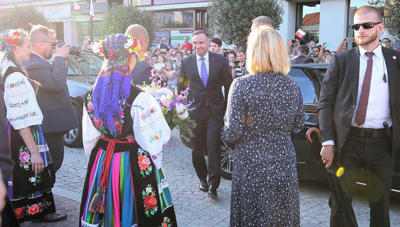 Prezydent Andrzej Duda (fot. PAP/Tomasz Wojtasik)