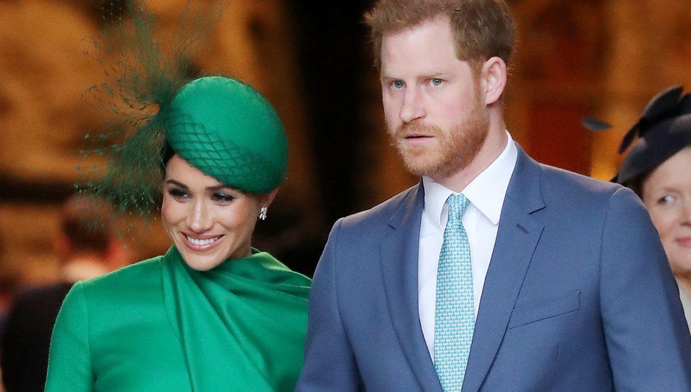 siążę Harry i Meghan Markle wśród 100 najbardziej wpływowych osób (fot. Chris Jackson/Getty Images)