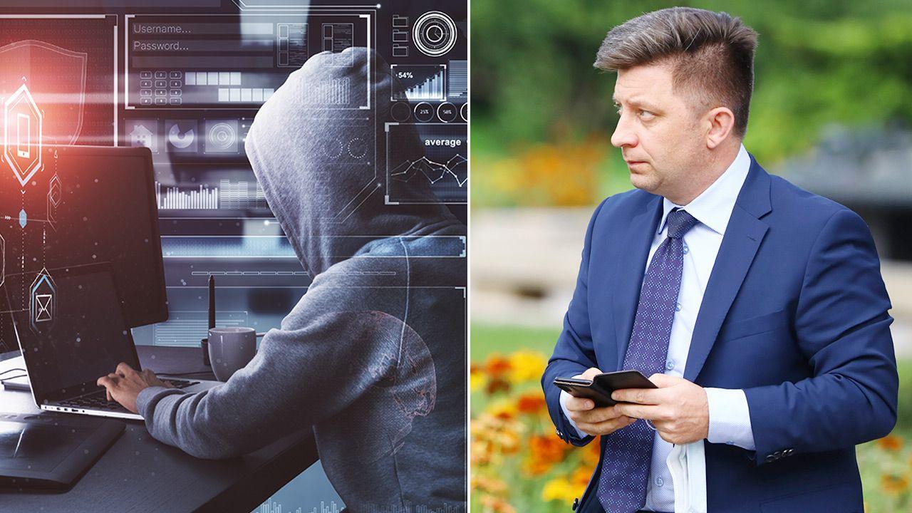 W czerwcu doszło do ataku hakerskiego na szefa Kancelarii Premiera Michała Dworczyka (fot. PAP/Art Service; Shutterstock)