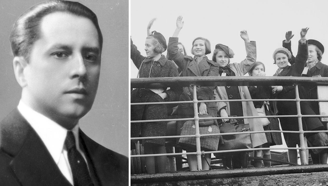 Ludzie uciekali przed Niemcami, jak i przed Rosjanami (fot. NAC; Fred Morley/Fox Photos/Getty Images)