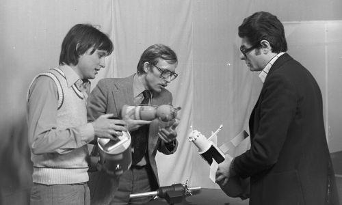 """""""Sonda"""", Andrzej Kurek i Zdzisław Kamiński. Fot. TVP"""
