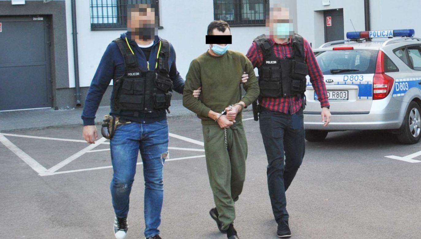 39- latek podejrzany o zabójstwo żony (fot. Policja lubelska)