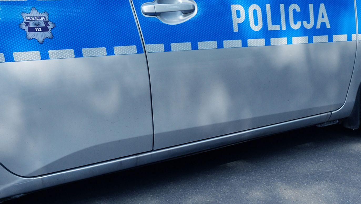 Policjantom udało się odzyskać cały łup  zabrany z odkurzacza na myjni (fot. Artur Widak/NurPhoto via Getty Images)
