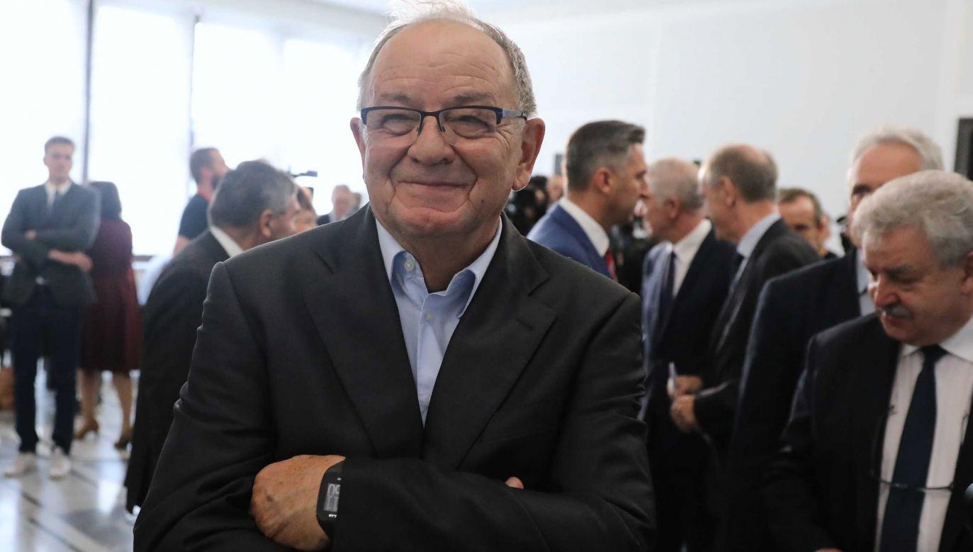 Jerzy Fedorowicz (fot.PAP/Tomasz Gzell)