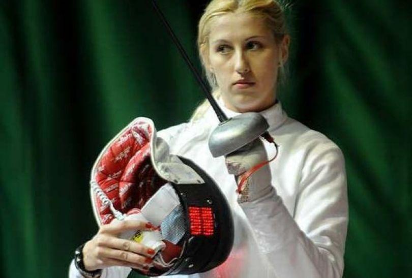Magdalena Piekarska wystartuje w turnieju indywidualnym w szpadzie (fot. PAP)