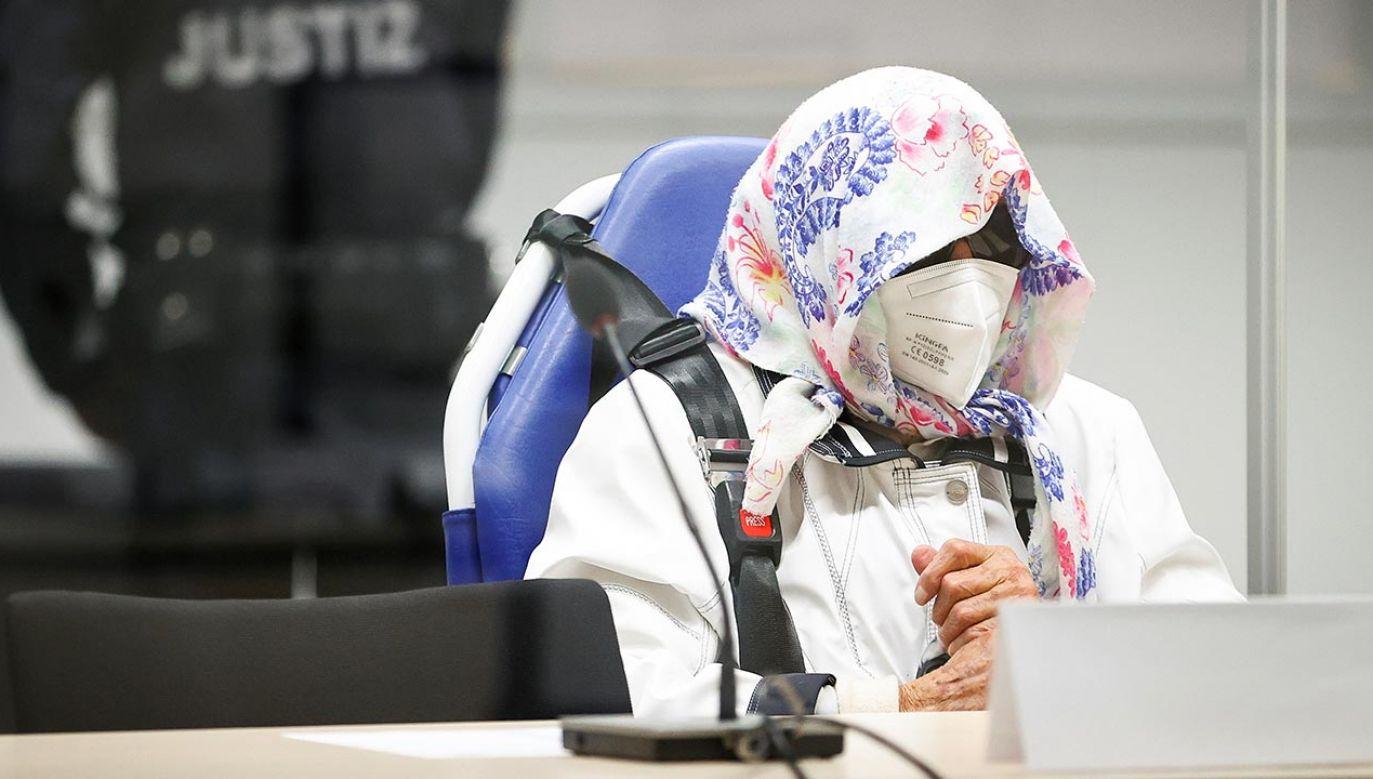Proces byłej sekretarki z obozu koncentracyjnego (fot. Forum/Reuters/Pool)