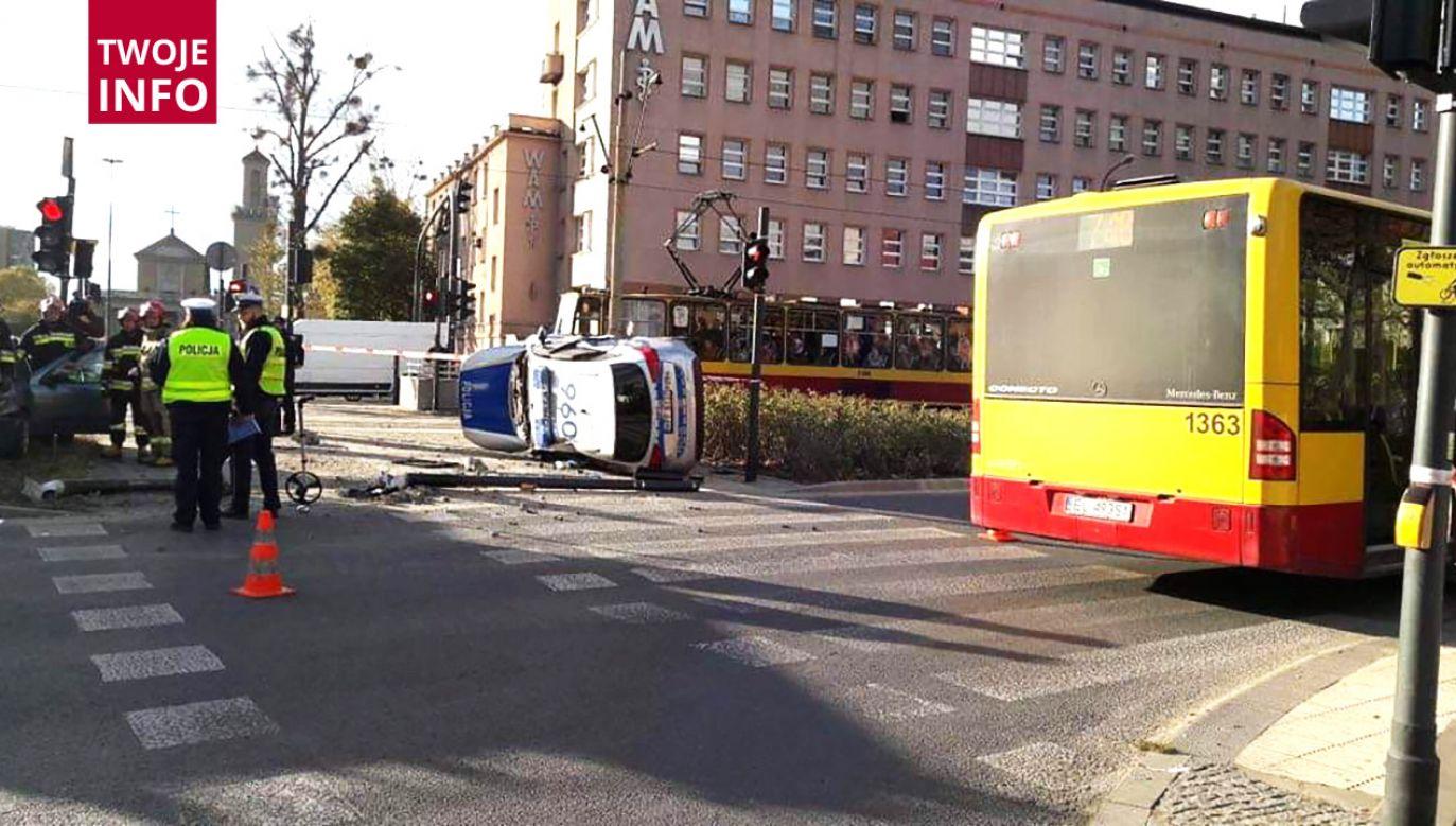 Informację o wypadku otrzymaliśmy na adres:twoje@tvp.info (fot. Twoje Info)