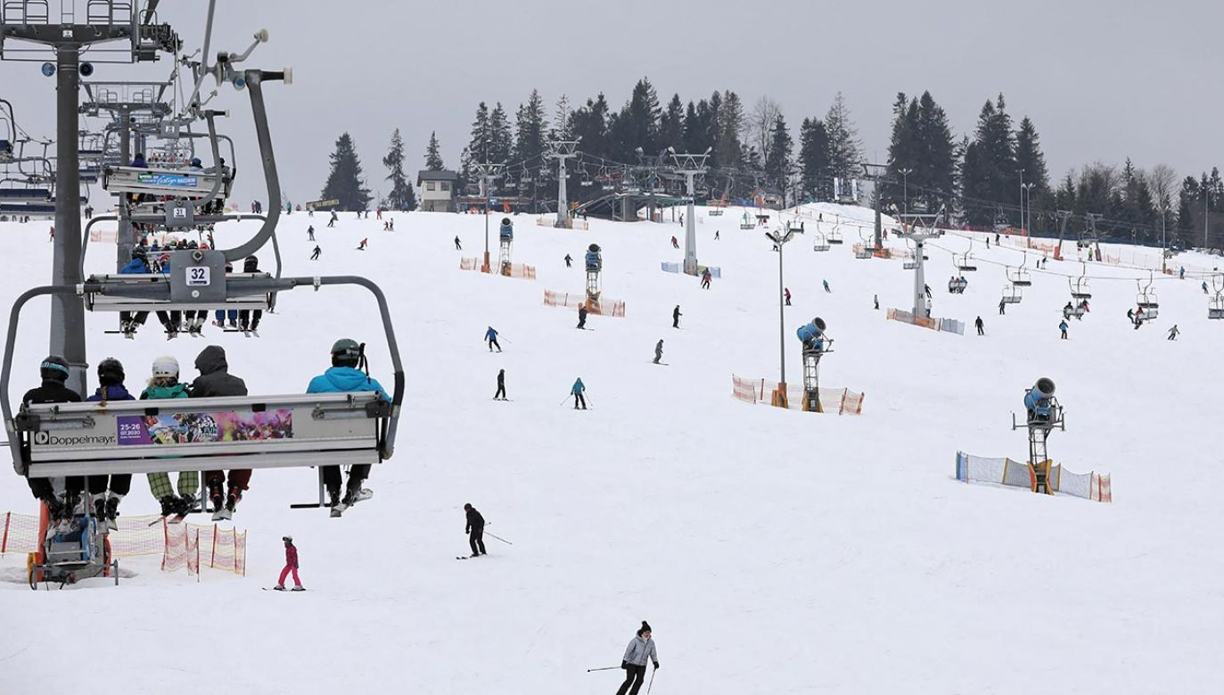 Będą prowadzone kontrole stoków narciarskich (fot. PAP/Grzegorz Momot)
