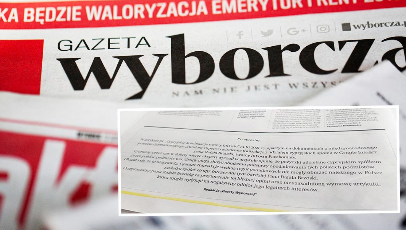 Kolejne przeprosiny gazety (fot. Shutterstock/Karolis Kavolelis)