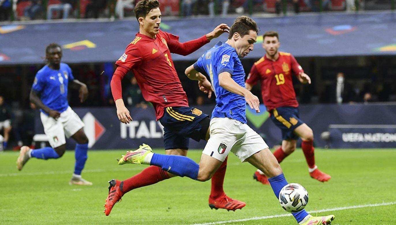 Włoskie media ze spokojem przyjęły porażkę ekipy trenera Roberta Manciniego (fot. Isabella Bonotto/Anadolu Agency via Getty Images)