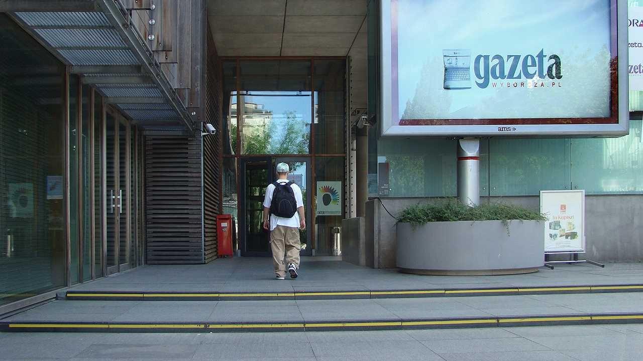 """Agora jest wydawcą """"Gazety Wyborczej"""" (fot. Wiki/Szczebrzeszynski)"""