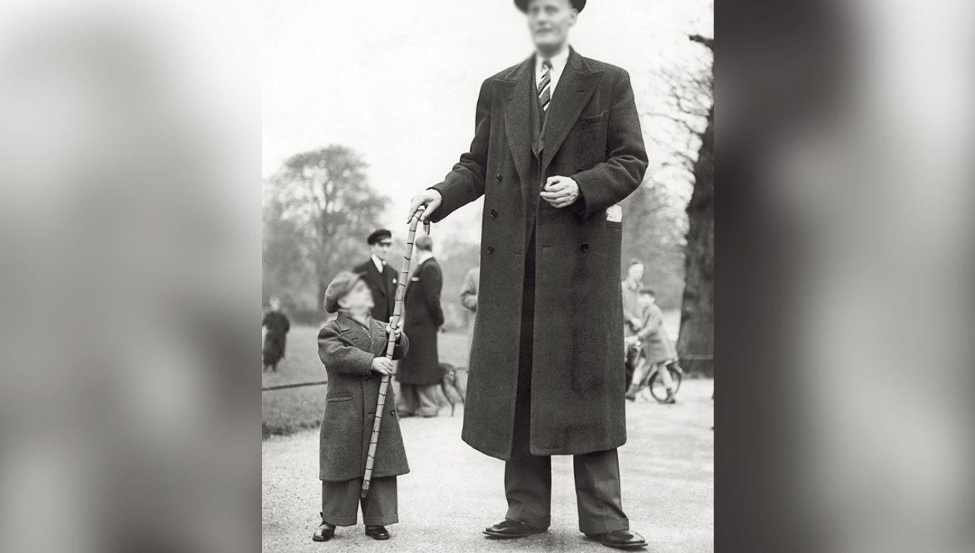 Austriak w ciągu kilku lat urósł o ponad metr (fot. Mondadori via Getty Images, zdjęcie ilustracyjne)