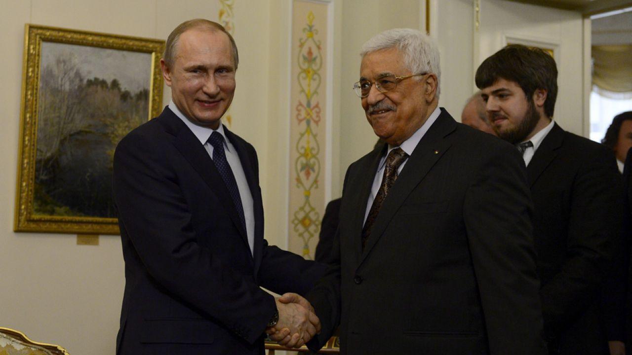 Czy prezydenci Putin i Abbas pracowali dla jednej służby wywiadowczej?(fot. Sefa Karacan/Anadolu Agency/Getty Images)