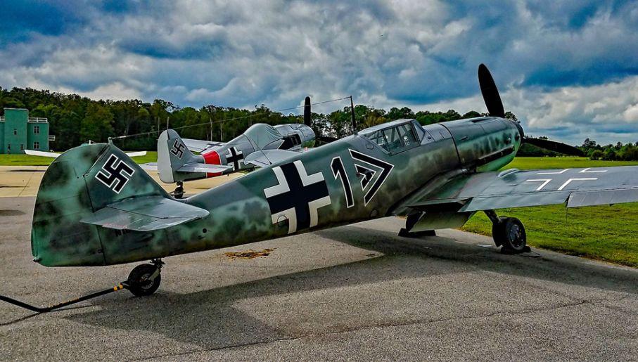 Messerschmitty Bf 109 były niezwykle udanymi konstrukcjami (fot. Wiki/Tomás Del Coro)