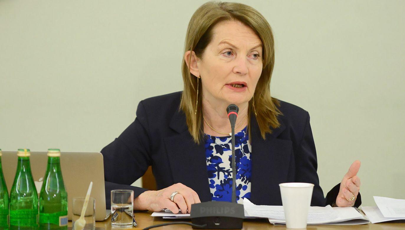 Była podsekretarz stanu w Ministerstwie Finansów Elżbieta Chojna-Duch (fot. PAP/Jakub Kamiński)