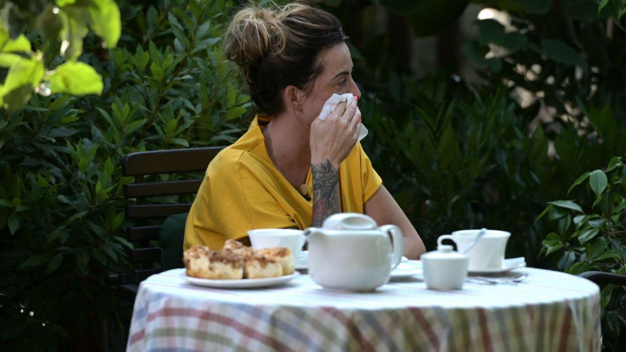 – Jest mi przykro... – wyznała zapłakana Ania (fot. P. Matey/TVP)