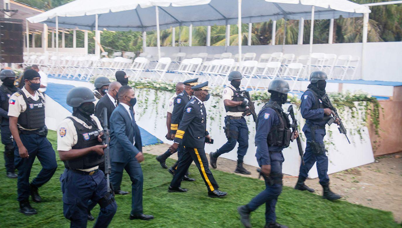 Delegacja władz USA skróciła swój pobyt w tym kraju(fot. PAP/EPA/Jean Marc Herve Abelard)
