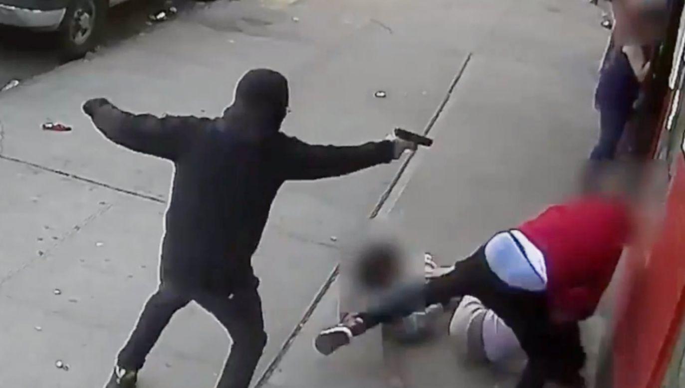 Wojna gangów na Bronksie (fot. NYPD NEWS)