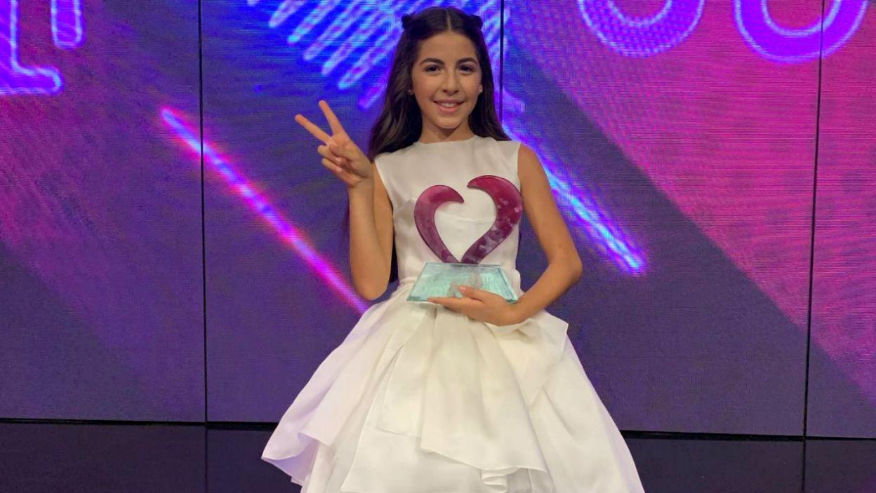 Karina Ignatyan ma 12 lat i choć pochodzi z Rosji, w Gliwicach będzie reprezentować Armenię (fot. Facebook/Karina Ignatyan)