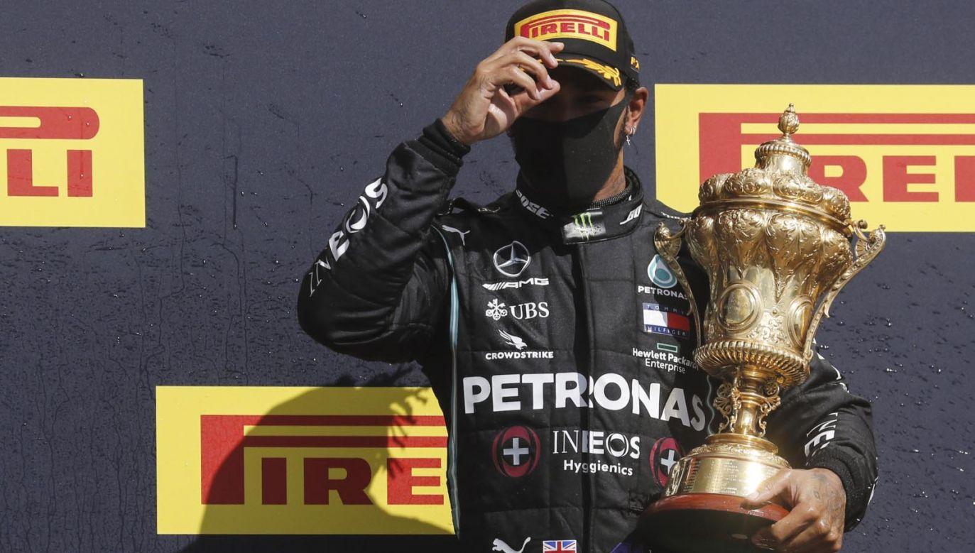 Lewis Hamilton (fot. PAP/EPA/Frank Augstein / Pool)