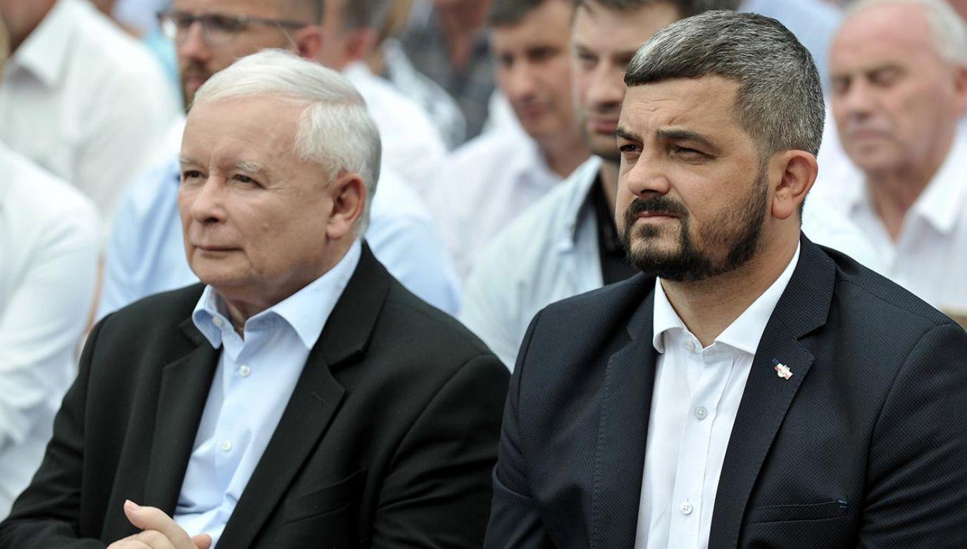 Niebawem okaże się, czy prezes PiS obejmie tekę wicepremiera (fot. Forum/Bartosz Frydrych)
