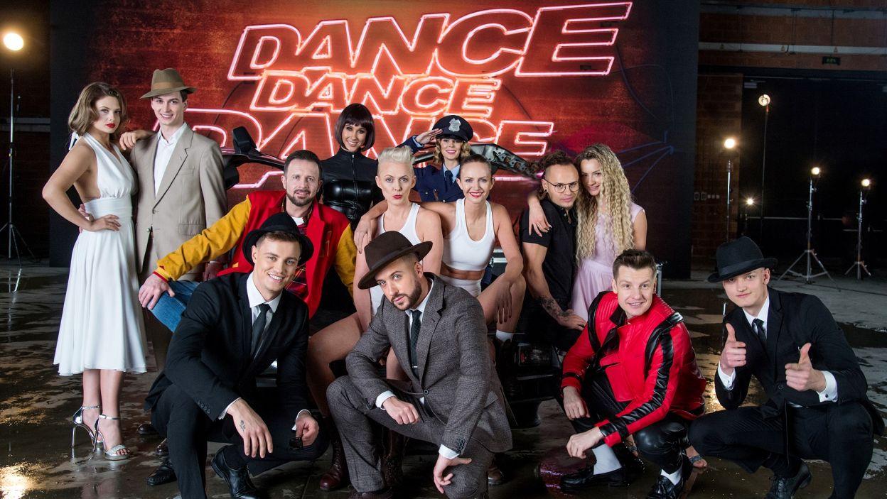 """Już 29 lutego rusza II edycja najbardziej roztańczonego programu """"Dance Dance Dance""""! Jak wyglądały kulisy powstawania spotu? (fot. TVP)"""