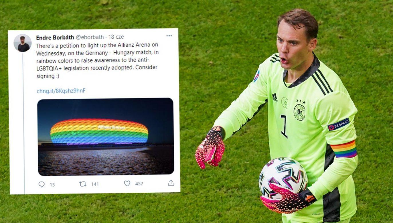 Niemcy prowokują. Jak zachowa się UEFA ws. Euro 2020? (fot. Andre Weening/BSR Agency/Getty Images)