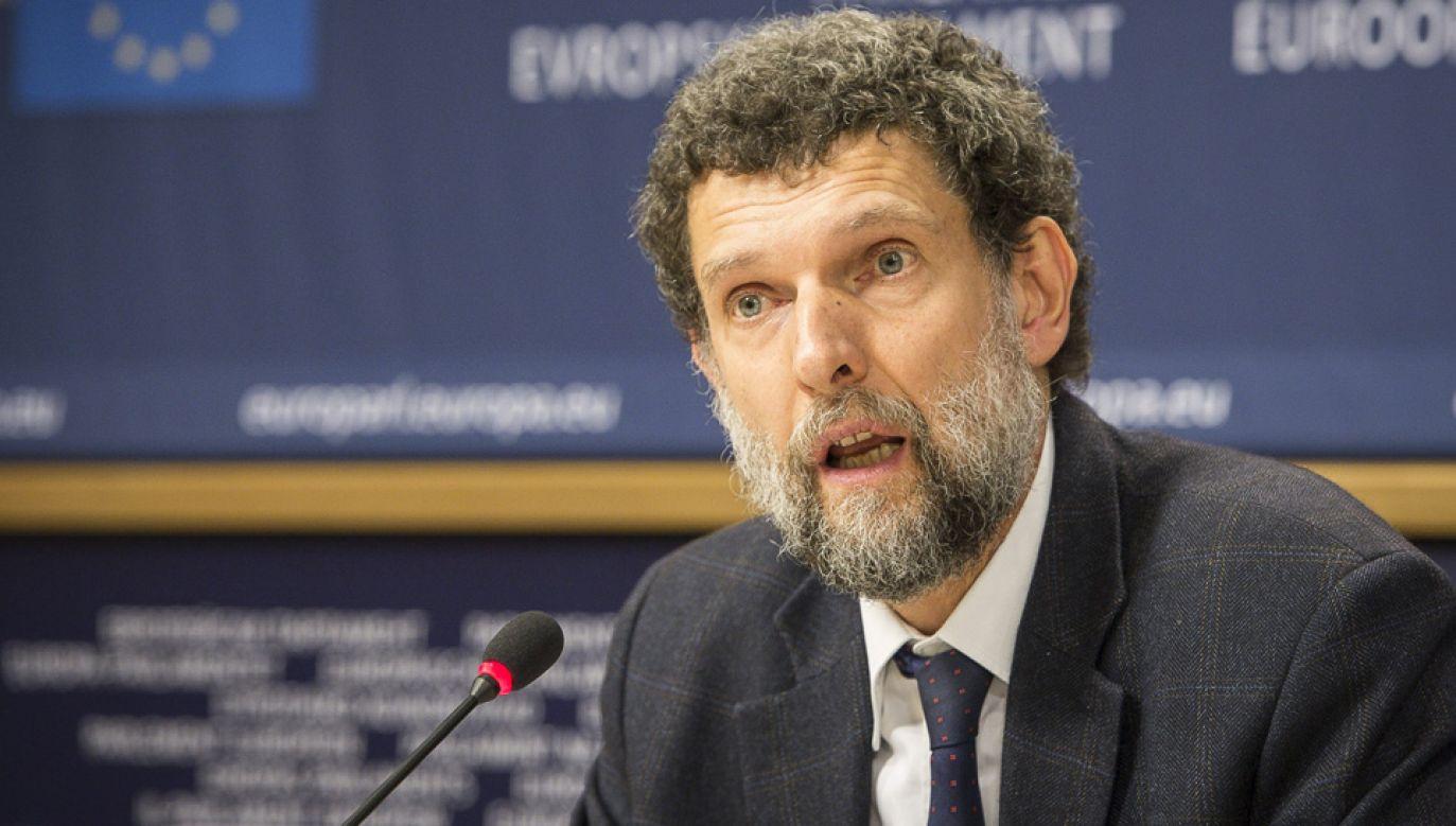 Osman Kavala ponad dwa lata spędził w więzieniu (fot. arch.PAP/Wiktor Dąbkowski)