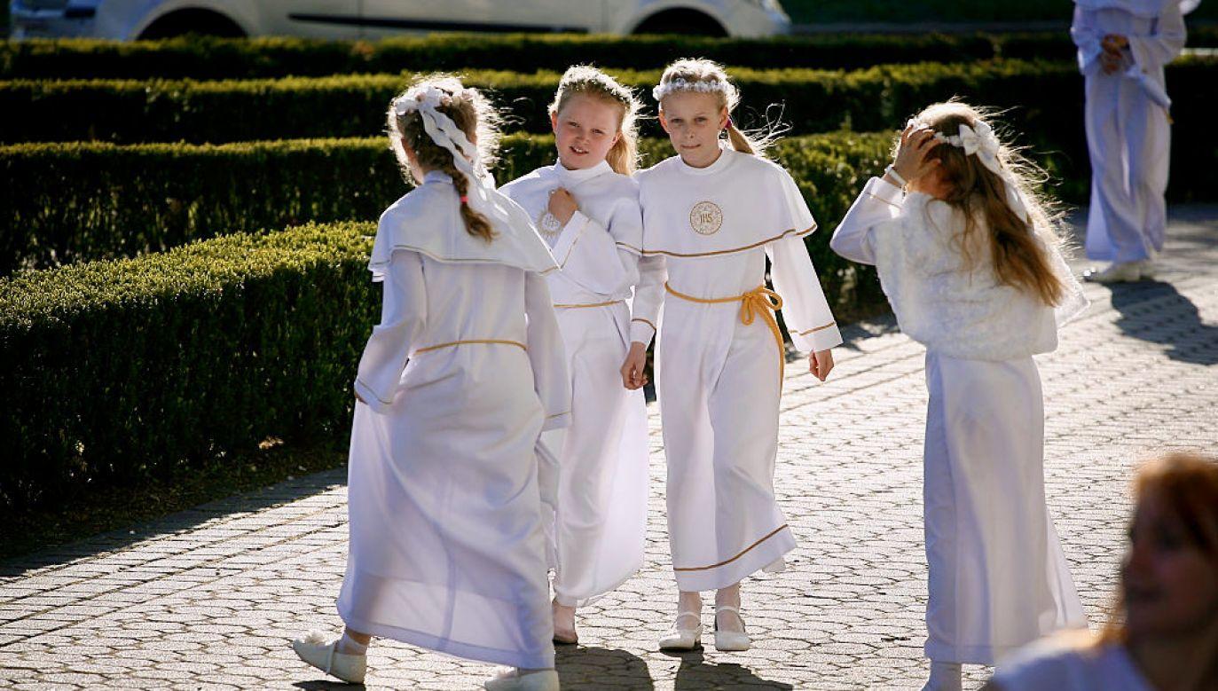Będą większe limity w kościołach w maju? (fot. Jaap Arriens/NurPhoto via Getty Images)