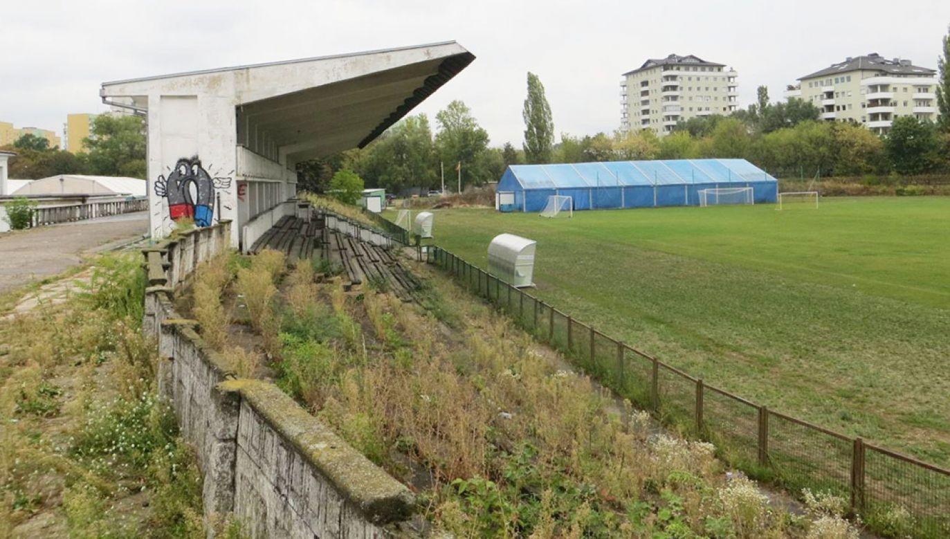 Trybuny stadionu Marymontu Warszawa powstały jeszcze na początku lat 50. XX wieku (fot. FB/Stadion Rks Marymont)