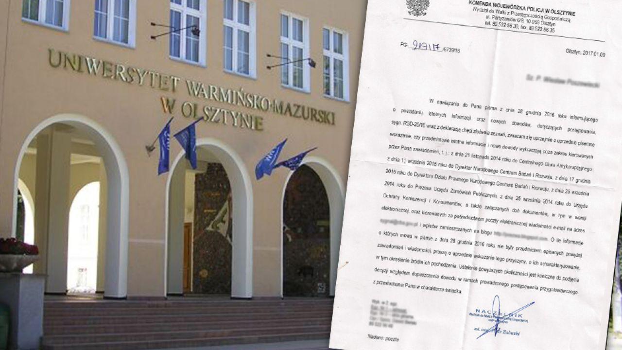 UWM mógł stracić ponad pół miliona złotych (fot. arch.)