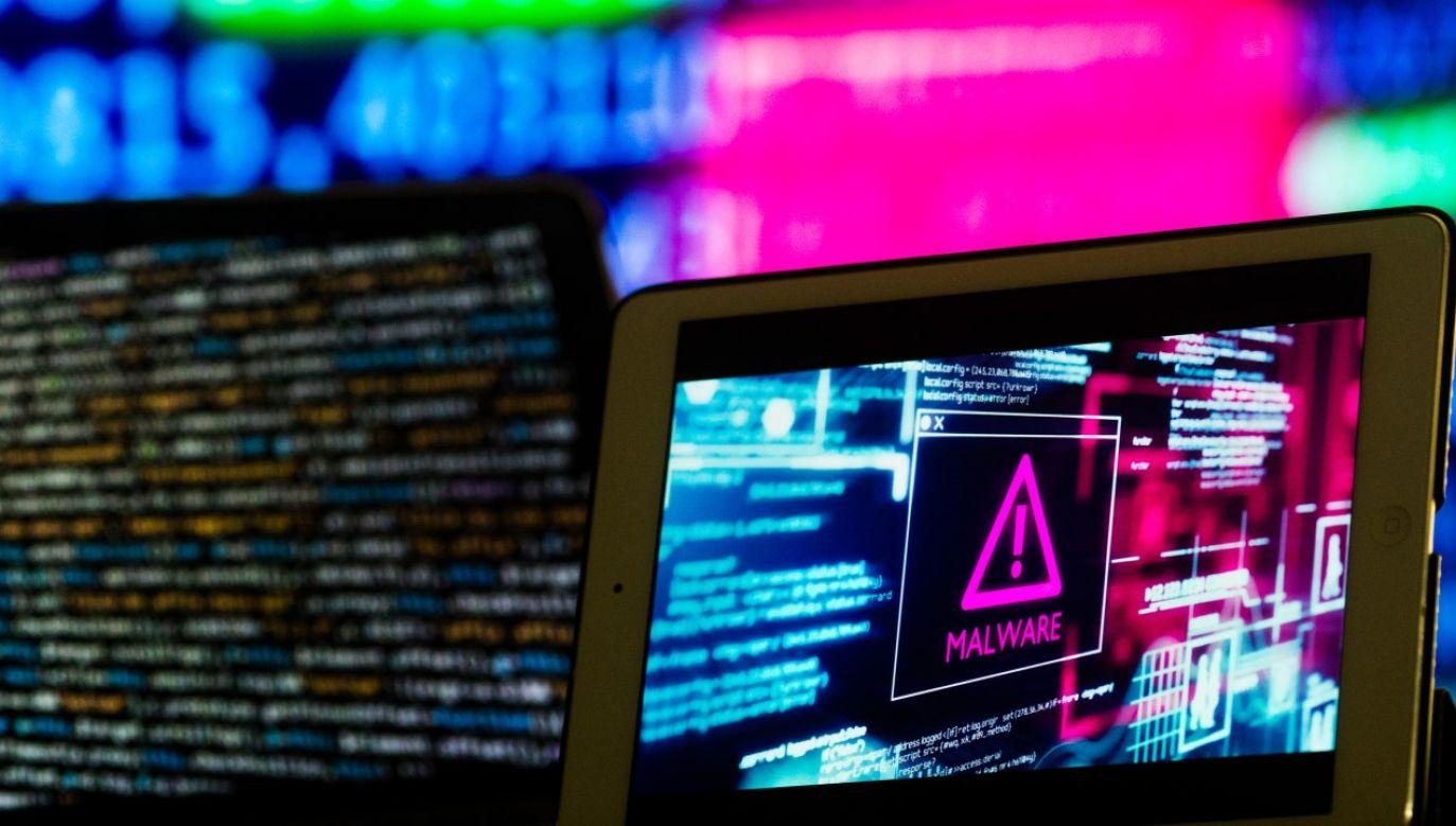 Ataki hakerskie był skierowane w portale rządu i administracji publicznej(fot. Chris Ratcliffe/Bloomberg via Getty Images)