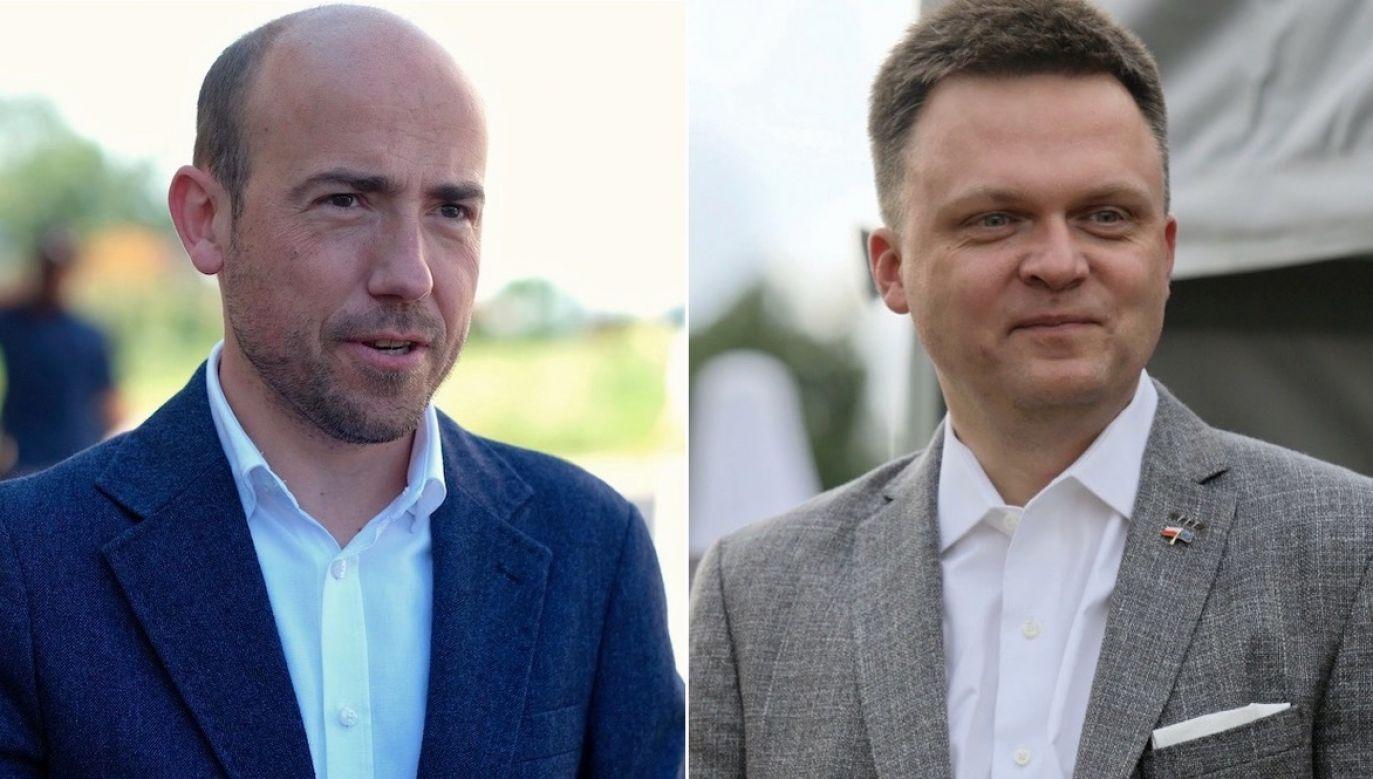 Hołownia pójdzie na współpracę z PO? (fot. PAP/Andrzej Grygiel/PAP/Lech Muszyński)