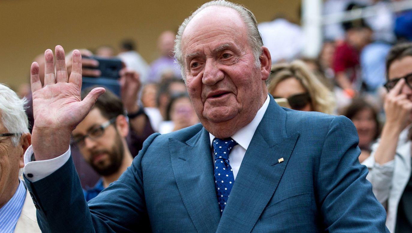 Były król Juan Carlos przeszedł operację serca (fot. PAP/EPA/RODRIGO JIMENEZ)