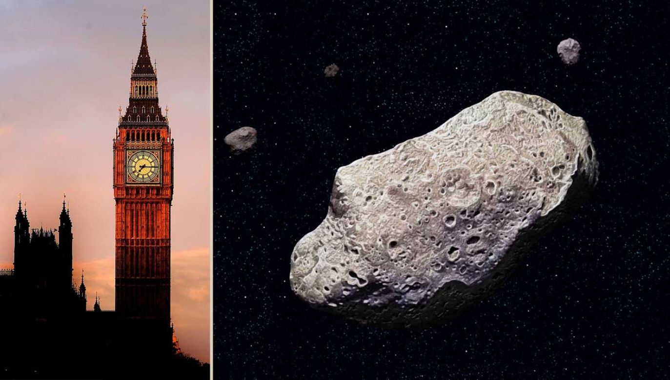 2020 JX to nie jedyna asteroida, która w sobotę pojawi się w pobliżu naszej planety (fot. Ian Waldie; QAI Publishing/Universal Images Group via Getty Images)